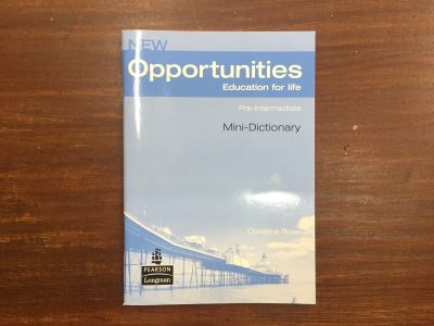 New Opportunities Pre-Intermediate Mini-Dictionary